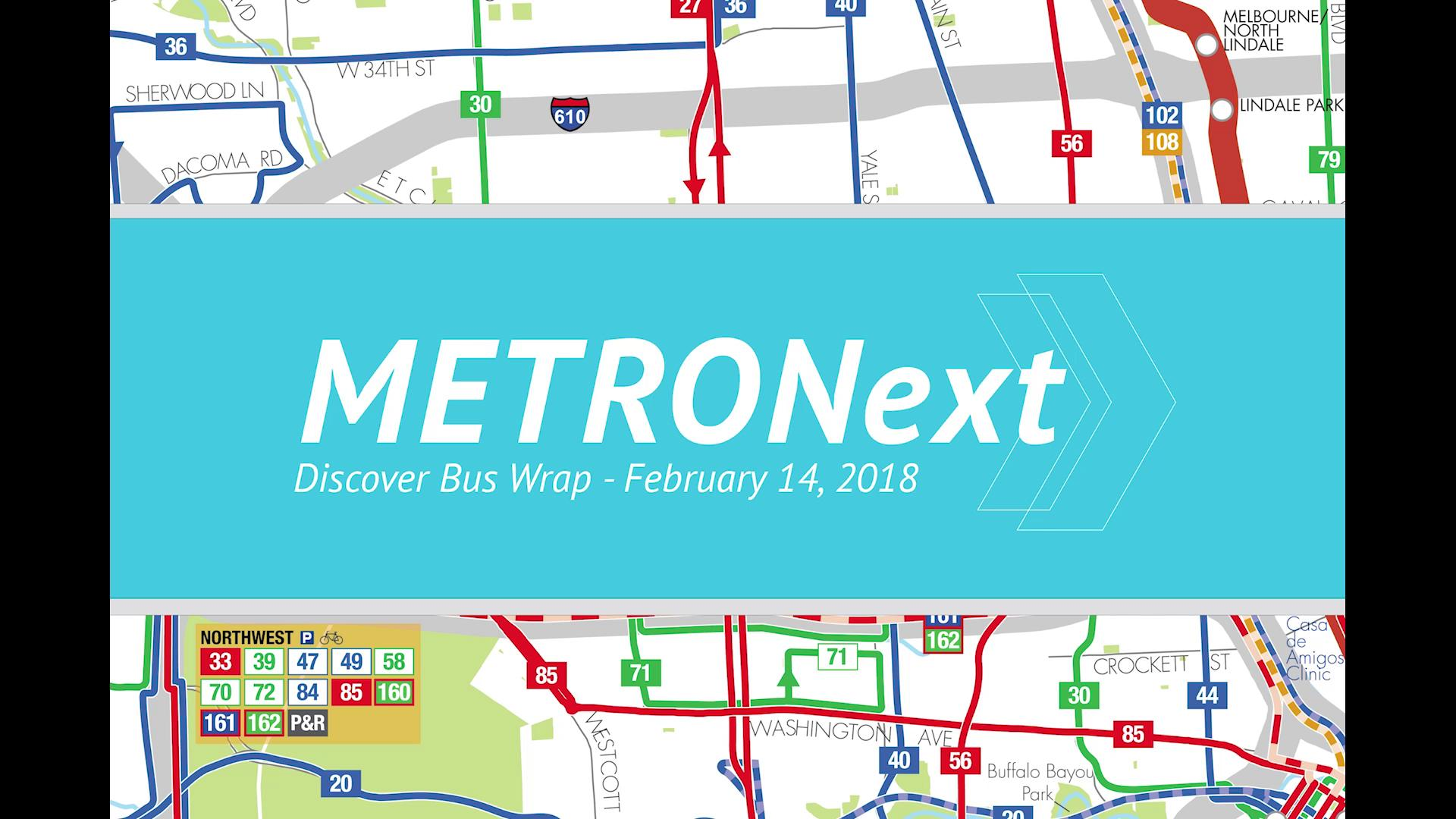 METRONext Bus Wrap