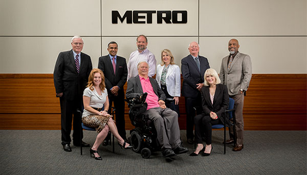 METRO Board of Directors group photo