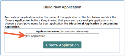 Application Title screenshot