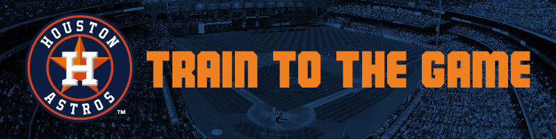 Take the Train to the Astros Game for FREE