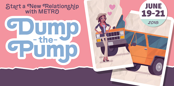 Dump The Pump, June 19 -21