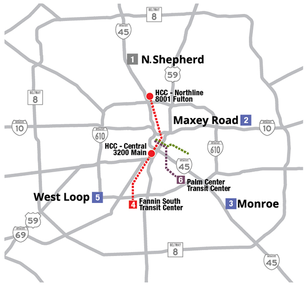 METRO Offers HassleFree Rodeo Parking And Express Service - Metro rail houston map