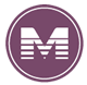 M icon for METRORail Purple Line