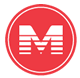 M icon for METRORail Red Line