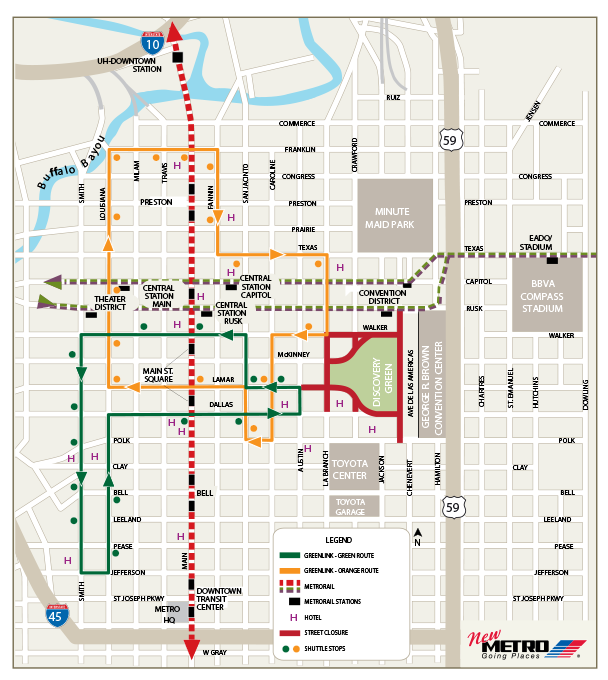 Greenlink Bus Map