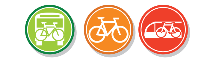 Bike and Ride icons