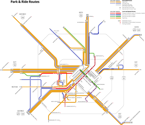 New Bus Network System Map