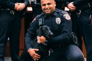 METRO Police Officer with K9
