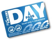 METRO Day Pass card