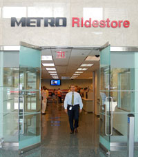RideStore entrance on 1900 Main Street